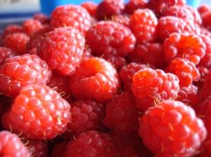 Xmas raspberries
